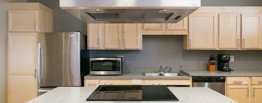 Cap apartments kitchen