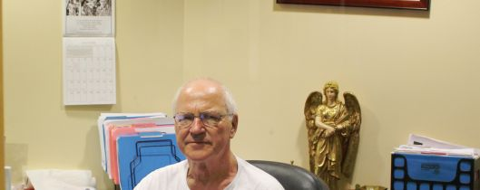 Br. Jerry Smith is a Capuchin friar and social worker who connects our guests to the resources they need.